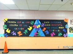 Autism awareness board for student --- http://tipsalud.com -----
