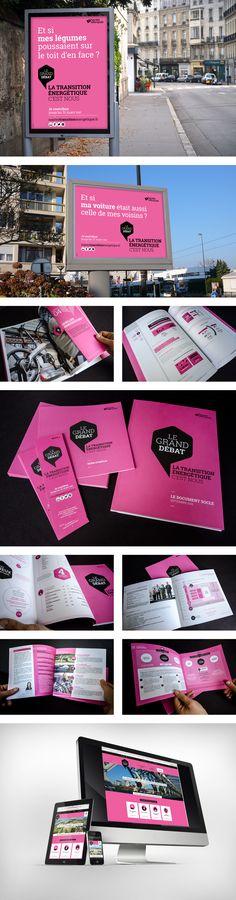Métropole   Transition Energétique   Grand Débat   com publique   campagne   2016   création   identité   communication   conception   déploiement  