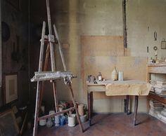 Luigi Ghirri : L'atelier. Luigi Ghirri.