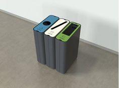 RADIUS Waste paper bin by Green Furniture Concept design Johan Berhin, Joakim Lundgren, Jonas Ekholst Recycling Containers, Recycling Bins, Office Bin, Made Design, Recycling Machines, Waste Container, Kitchen Waste, Recycling Center, Green Furniture
