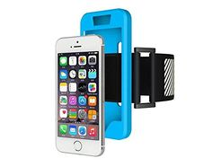 H-ber Gym Sport Running Mobile Phone Armband Silicone Case Cover Holder Jogging Belt Wrist Band with Reflect Light Logo for iPhone 5 5S SE (Blue). Enjoy your favorite tunes or app while running, cycling, hiking, walking or working out. This is the perfect armband for all fitness activities including weightlifting. Designed Specifically for the Iphone 5 5S SE. Available in four stylish colors, the Armband is ideal to use as workout accessories for women, men, boys and girls alike. This...