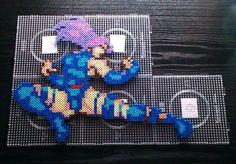 Psylocke perler bead sprite by H3XA6RAM on deviantART