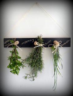 Make this herb drying rack