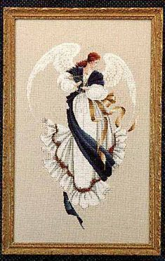 Cross-stitch Supply Top Quality Beautiful Lovely Counted Cross Stitch Kit Similar Dim Cross Stitch Similar Dmc Similar Dim Blue Angel 30 Matching In Colour Arts,crafts & Sewing