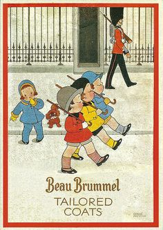 An early 30s ad by Chloe Preston a famous children's illustrator, by Leonard Bentley flickr