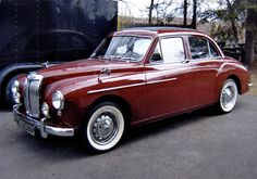 MG Magnette The car my grandma Jean used to drive.