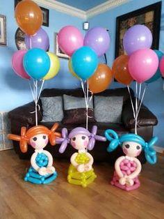 Resultado de imagen para lalaloopsy birthday balloons