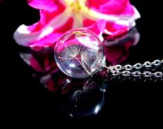 Symbolic glass orb with Two Special Wishes от SweetyLifeShop