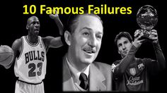 Top 10 Famous Failures | Inspirational video | - AllTimeTop  (https://youtu.be/H5Fon-fCk-I)  Top 10 Famous Failures | Inspirational video | - AllTimeTop