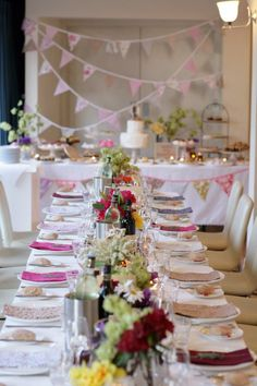 Pink and Cream Floral Wedding.
