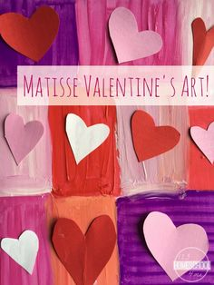 Henry Matisse Art Project for Kids - This is such a fun Valentines Day craft for kids to make to learn more about this famous artist. Perfect for preschool, kindergarten, 1st grade, 2nd grade, 3rd grade, 4th grade, 5th grade, and 6th grade kids (homeschool, art projects, art activities for kids)