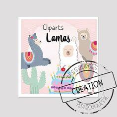 Des petits lamas pour décorer vos feuilles