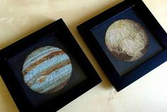 Cross-Stitched Planets Launch Crafting to a New Nerd Level | Mental Floss PATTERN IS FOR SALE ON ETSY