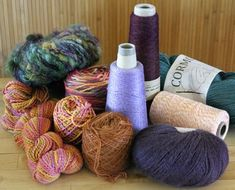 Basic instructions, inc. how to determine what weight yarn to use with which heddle.