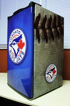 Canada's number one source for custom designed, custom printed vinyl mini fridge wraps and beer fridge decals! $45 Flat-rate shipping! Beer Fridge, Mini Fridge, Man Cave Fridges, Custom Wraps, Flat Rate, College Life, Custom Design, Projects To Try, Decals