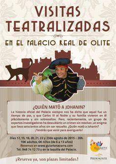 Visitas teatralizadas en el Palacio Real de Olite ¿Te las vas a perder? ¡Toma nota! #Navarra