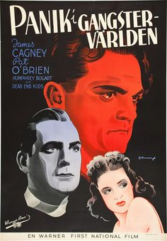 Swedish posters for classic Hollywood films from the 1920s and '30s