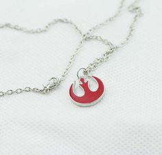 Star Wars Rebel Symbol Necklace