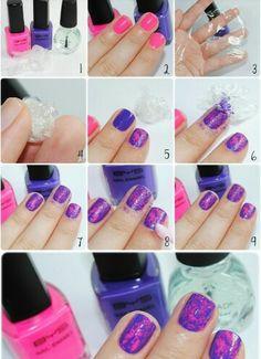 plastic wrap tutorial
