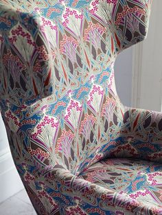 This Autumn, long-established British department store Liberty will expand its reach with the launch of its first furnishing fabrics collection entitled Jubilee 2012. The collection of high quality linens and velvets takes inspiration from archived, uniquely British Liberty designs.