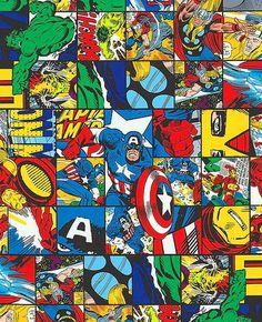 Tela FQ :: Marvel comic patch :: de nosgustanlosretros por DaWanda.com
