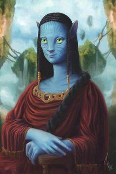 mona lisa avatariana