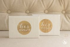 write your vows in these keepsake books