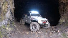 Scx10-JK all ready for cave crawling! www.bendercustoms.com pic by Eric Schoon