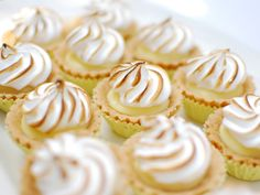 Lemon Meringue mini tarts - could you honestly just eat one though?
