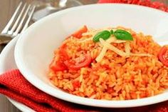 Risotto sauce tomate et parmesan Slow Cooker Recipes, Diet Recipes, Cooking Recipes, Italian Rice Dishes, Parmesan Risotto, Tomato Rice, Tomato Soup, Jollof Rice, Italian Recipes