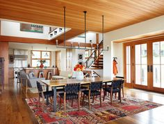 Thistle Hill Farm - farmhouse - dining room - milwaukee - Northworks Architects and Planners