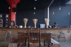 COFFEED: Cool place where you can spend a chill afternoon.  The coffee shop features a full-service café, a roasting facility, a bar with local beers and wines, and the Brooklyn Grange's acre-sized rooftop farm