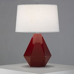 Delta Table Lamp by Robert Abbey at Lumens.com