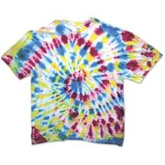 United Art and Education Art Project:  Learn a few basic tie-dye tying techniques with this fun project!