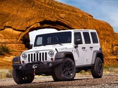 Jeep Wrangler Unlimited: I never really had a thing for Wranglers.  Then Jeep came out with the four door version (Unlimited).  But, they were still too unrefined for day-to-day.  But now that they have the 3.6 liter engine and new interior I would be happy to own one!