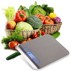 2017 New Ultra-thin touch screen kitchen scale cooking Household measure tools stainless steel electronic weight balance
