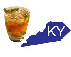 Kentucky's Mint Julep  (Bourbon, sugar, and water)