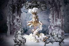 Style Bible Life Ball 2014 photos (unretouched) by Inge Prader - Marie-Antoinette - Versailles - Rococo - Baroque Turandot Opera, Baroque, Tableaux Vivants, Drag, Midsummer Nights Dream, Gustav Klimt, Mode Inspiration, Costume Design, Installation Art