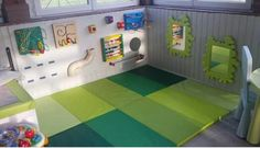 Good Absolutely Free LOVE THIS CHILDREN'S ROOM. - ÇİĞDEM - decoration Concepts Got kids ? You then realize that their stuff winds up virtually throughout the house! Daycare Spaces, Home Daycare, Toddler Daycare Rooms, Montessori Playroom, Montessori Baby, Kindergarten Design, Toddler Classroom, Church Nursery, Toy Rooms