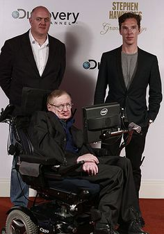 Benedict Cumberbatch joins Stephen Hawking at the premiere of his new documentary series | Radio Times