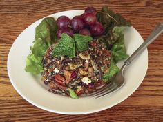 Nutty Wild Rice Salad: OntheMove-In the Galley