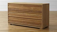 Sierra Six-Drawer Dresser | Crate and Barrel