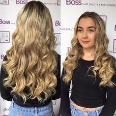 Lovely waves by our stylist Nikki using the GHD classic curling tong #wavesfordays #ghdclassiccurl #ghd #longhair