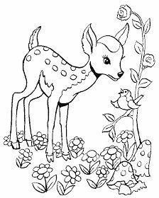 Baby Deer Coloring Page Baby deer coloring pages. Print baby deer coloring page bw print baby deer coloring page color the deers coat is a reddish brown in the spring and summer Forest Coloring Pages, Deer Coloring Pages, Printable Coloring Pages, Coloring Pages For Kids, Coloring Books, Deer Drawing, Online Coloring, Baby Deer, Animal Drawings