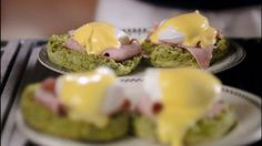 Eggs Benedict with spinach muffins - requiring only a little heat on the hob #GROWmethod #recipe