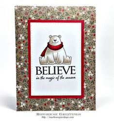 New Class! Winter Polar Bear Cards – Thursday, December 14th & Saturday, December 16 – Photo Scraps