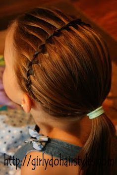 http://www.girlydohairstyles.com/2010/09/water-fall-braid-headband.html
