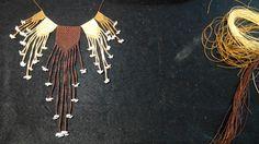 Collar al estilo Quipu. #cuatrosuyos #tawantinsuyo #collaresmacrame #quipu #inca #peru #hechoamano #canarias #culturaviva