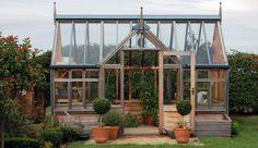 Gabriel Ash Portico Series Greenhouse - Hobby Greenhouse Kits