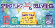 This Saturday, Apr. 9th, don't miss this great yard sale benefiting Mesquite ISD Community Education! #realtexasflavor #shop #weekendfun #weekend #spring #Springfling #Sale #sell #benefit